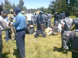 Irreechaa 2012 @ Burraayyuu, Oromia: Injustice treatment of Police at Irreechaa ceremony