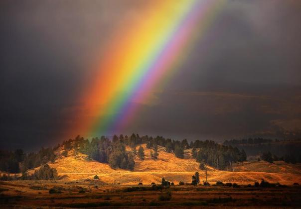 Rainbow in Oromia