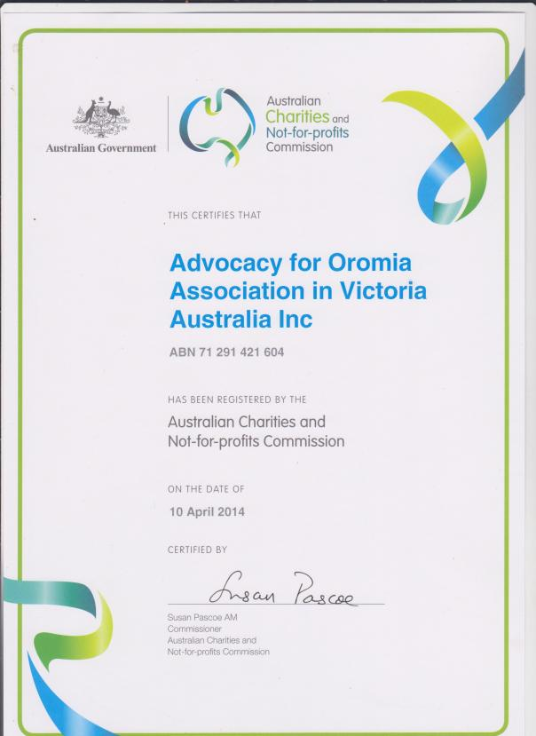 A4O Charity Certificate 001