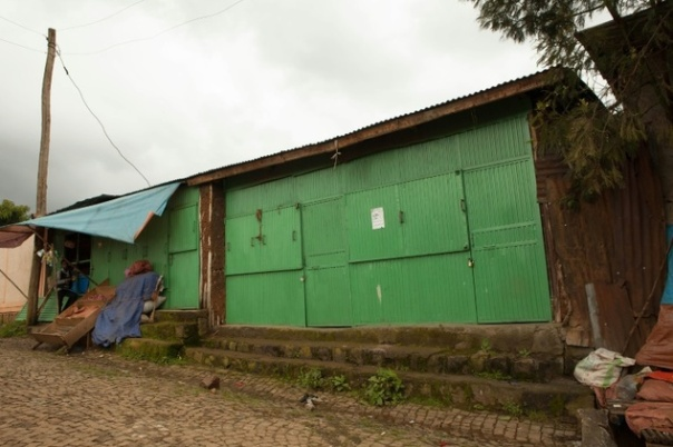 closed shops in Burayu town, about ten kilometres from Addis Ababa in Oromia regional state.Most traders have closed their shops and called for a general strike against the repression of anti-government movement that affects the Oromo region.