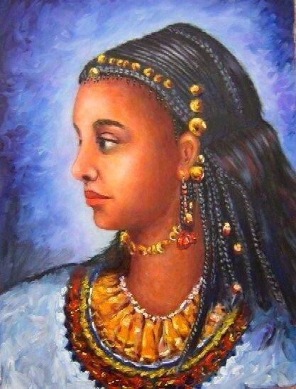 "Mahbuba – An Oromo Slave who won the heart of a German Prince. She was exceptional beautiful girl. Her parents called her name ""Bilillee"" which literally means well shaped, pretty. She was born in Guma, current Eastern Oromiyaa, Ethiopia in 1820 G.C. Unfortunately when she was 15 age, the civil war out broke in that particular area in 1835/36. It was during that war period she lost her father and six brothers. She left only with her mom."