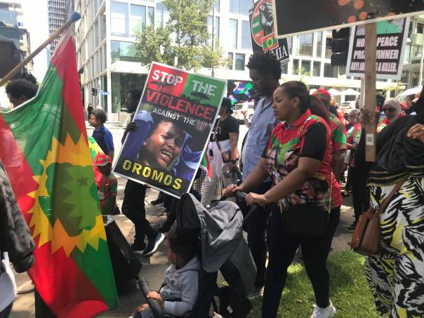 Australian Oromo community stages solidarity Rally in Melbourne,  17 February 2020